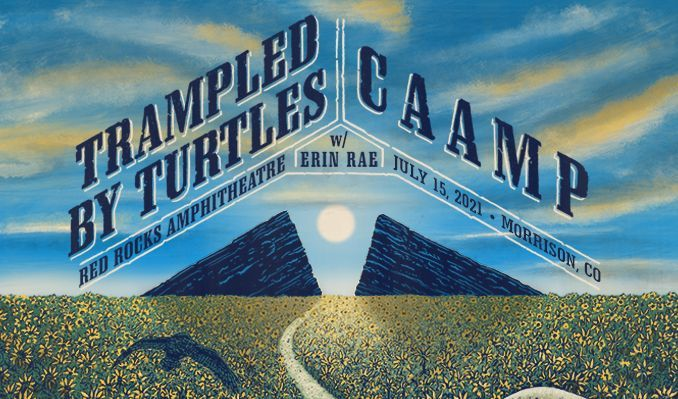 Trampled By Turtles / CAAMP  tickets at Red Rocks Amphitheatre in Morrison
