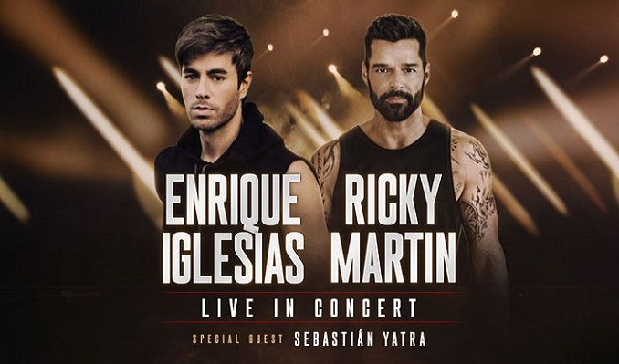 Enrique Iglesias & Ricky Martin tickets at Toyota Center in Houston