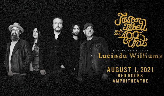 Jason Isbell and the 400 Unit  tickets at Red Rocks Amphitheatre in Morrison