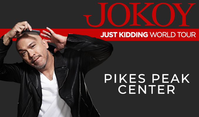 Jo Koy - Just Kidding World Tour tickets at Pikes Peak Center in Colorado Springs