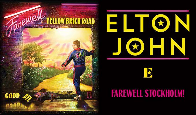 Elton John - NYTT DATUM! tickets at Tele2 Arena in Stockholm
