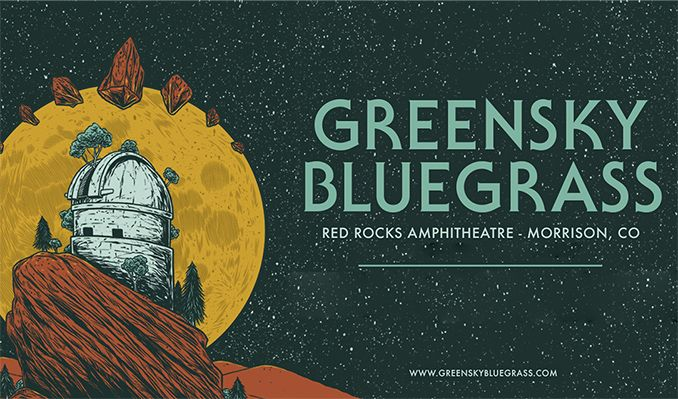 Greensky Bluegrass 9/18 tickets at Red Rocks Amphitheatre in Morrison