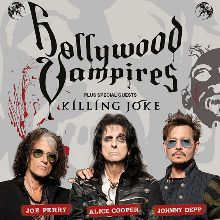 Hollywood Vampires - CANCELLED tickets at The O2 in London