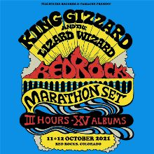 King Gizzard and the Lizard Wizard  10/12 tickets at Red Rocks Amphitheatre in Morrison