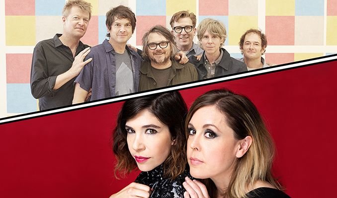 Wilco & Sleater‐Kinney  tickets at Red Rocks Amphitheatre in Morrison