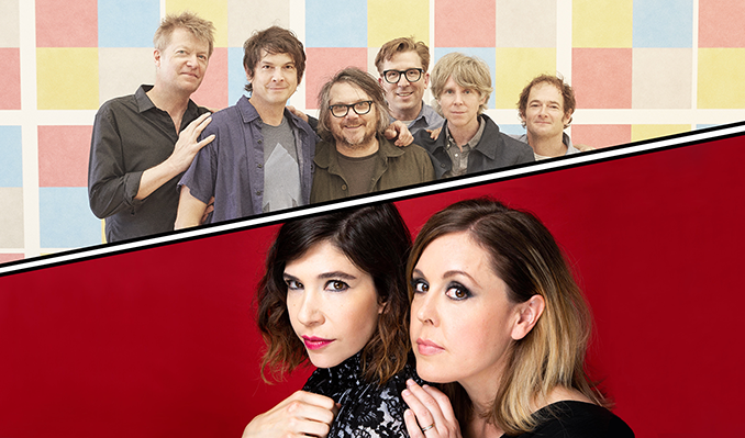 Wilco + Sleater‐Kinney tickets at Arvest Bank Theatre at The Midland in Kansas City