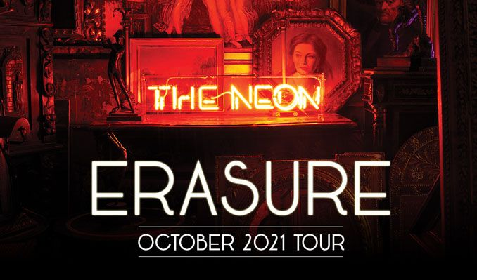 Erasure tickets at The O2 in London