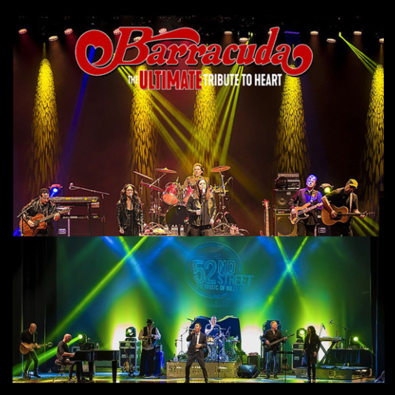 More Info for Barracuda The Ultimate Heart Tribute + 52nd Street - The Music of Billy Joel