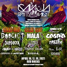 Ganja White Night 2 Day Pass tickets at Red Rocks Amphitheatre in Morrison