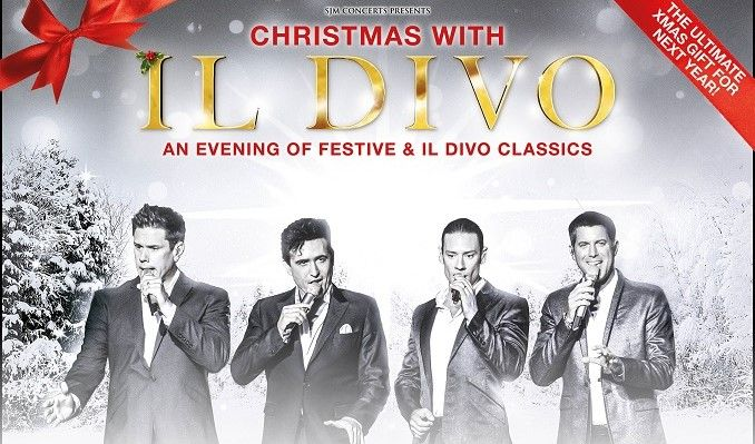 Il Divo - RESCHEDULED tickets at The SSE Arena, Wembley in London