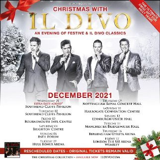 Il Divo - RESCHEDULED