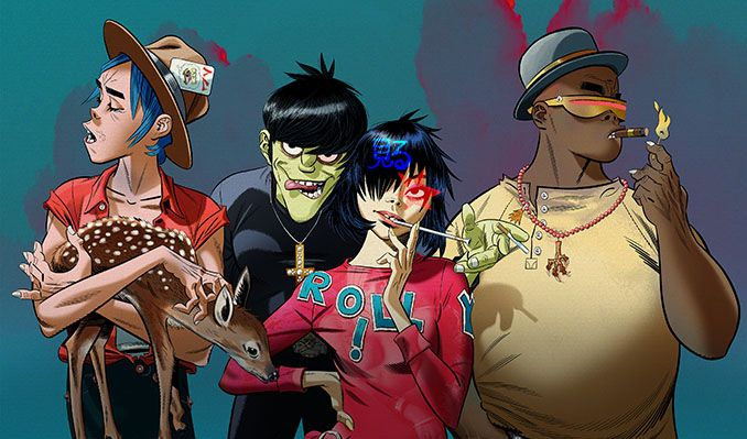 Gorillaz tickets at The O2 in London