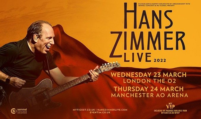 Hans Zimmer Live - RESCHEDULED tickets at AO Arena in Manchester