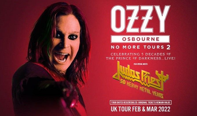 Ozzy Osbourne - RESCHEDULED tickets at The O2 in London