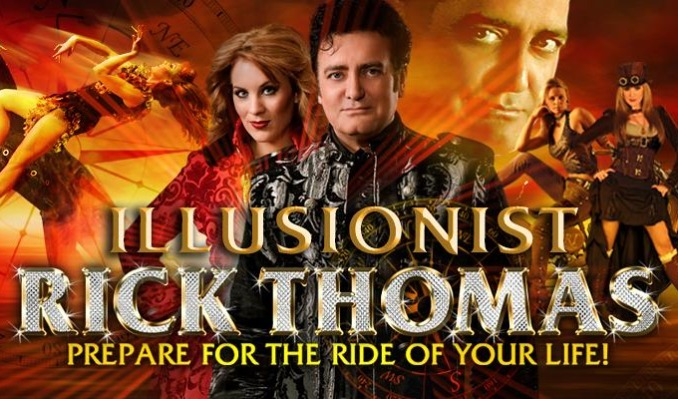 Illusionist Rick Thomas tickets at Maryland Hall in Annapolis