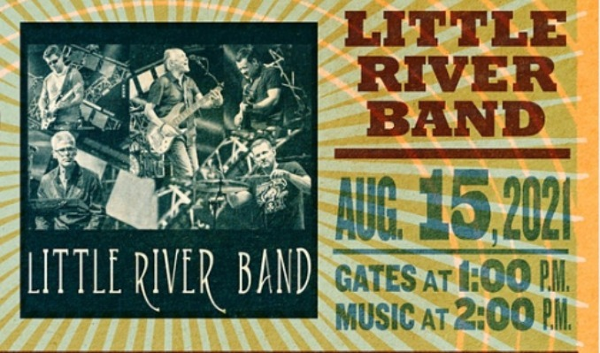 Little River Band tickets at Point of the Bluff in Hammondsport