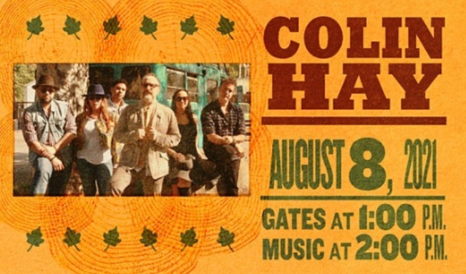 Colin Hay tickets at Point of the Bluff in Hammondsport