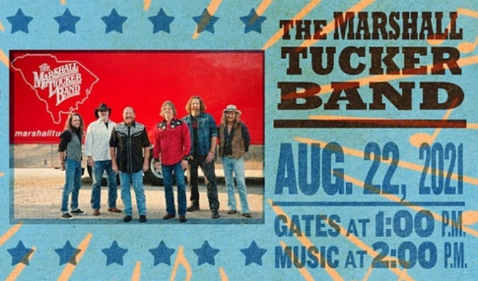The Marshall Tucker Band tickets at Point of the Bluff in Hammondsport