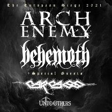 Arch Enemy + Behemoth tickets at ANNEXET/Stockholm Live in Stockholm