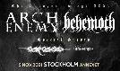 Arch Enemy + Behemoth tickets at Annexet in Stockholm