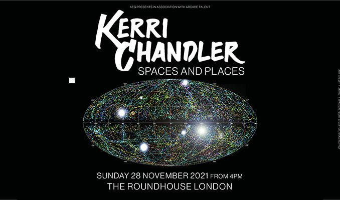 Kerri Chandler tickets at The Roundhouse in London