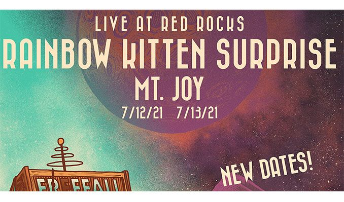 Rainbow Kitten Surprise 7/12 - CANCELLED tickets at Red Rocks Amphitheatre in Morrison