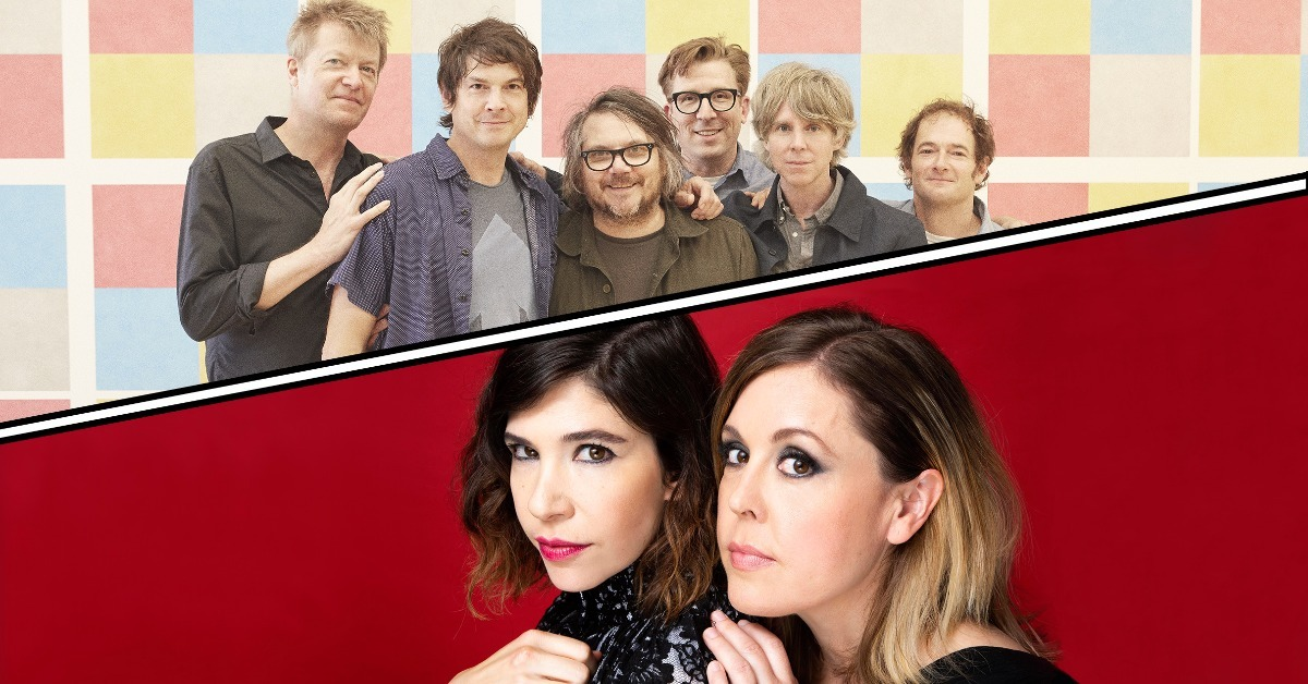 Wilco and Sleater‐Kinney: It's Time - Summer 2021 Tour