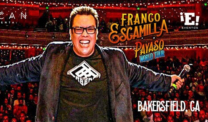 Franco Escamilla tickets at Historic Bakersfield Fox Theater in Bakersfield