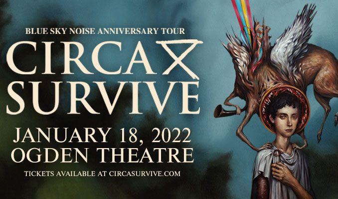 Circa Survive tickets at Ogden Theatre in Denver