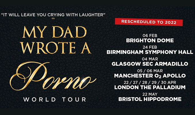 My Dad Wrote A Porno - RESCHEDULED  tickets at O2 Apollo Manchester in Manchester