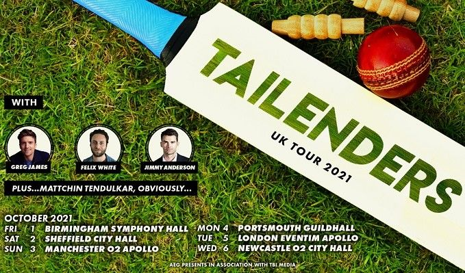 Tailenders tickets at Sheffield City Hall in Sheffield