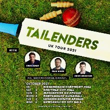 Tailenders tickets at Newcastle City Hall in Newcastle upon Tyne