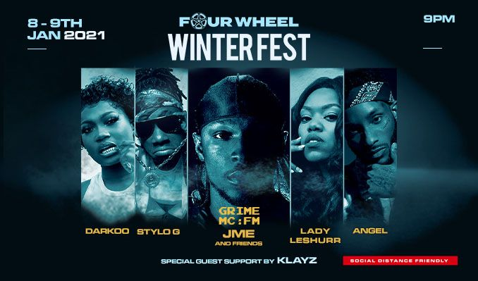 FOUR WHEEL WINTERFEST tickets at The Drive-in London in London