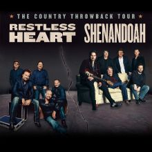 Shenandoah & Collin Raye tickets at Billy Bob's Texas in Fort Worth