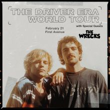 The Driver Era tickets at First Avenue in Minneapolis