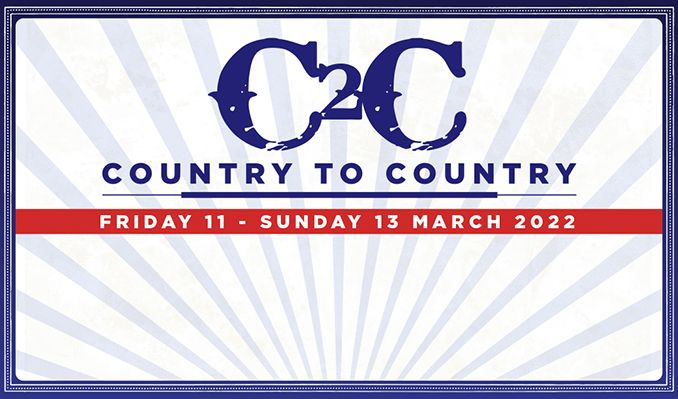 Country to Country - RESCHEDULED tickets at The O2 in London