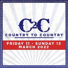 Country to Country Three-Day Ticket - RESCHEDULED tickets at The SSE Hydro in Glasgow