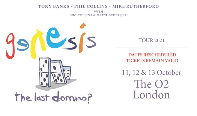 Genesis - EXTRA DATE ADDED tickets at The O2 in London