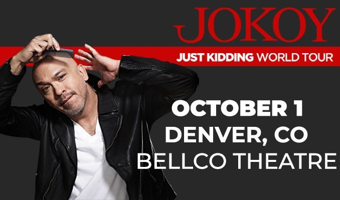 Jo Koy  tickets at Bellco Theatre in Denver