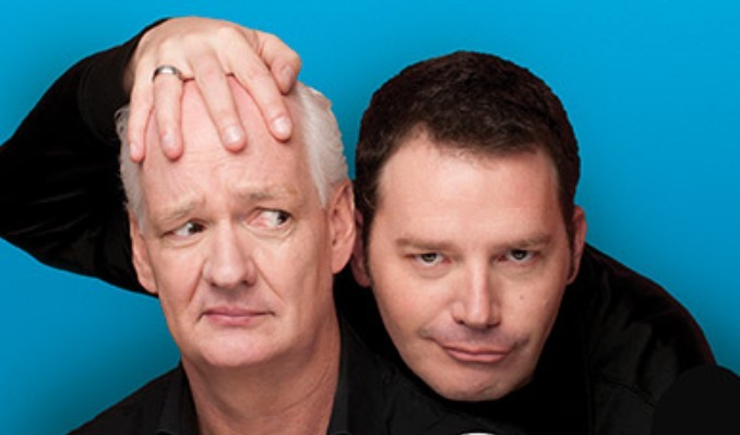 Colin Mochrie & Brad Sherwood: Scared Scriptless tickets at The Fitzgerald Theater in St. Paul