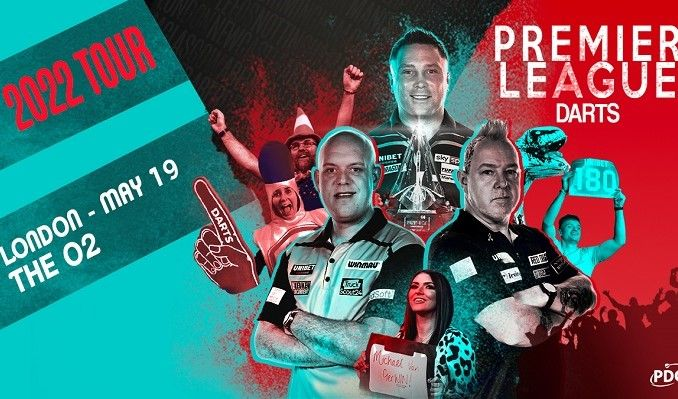 2022 Unibet Premier League Darts  tickets at The O2 in London