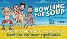 Bowling for Soup - RESCHEDULED tickets at Brangwyn Hall in Swansea