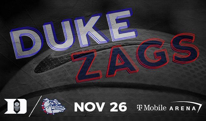 Duke vs Gonzaga tickets at T-Mobile Arena in Las Vegas