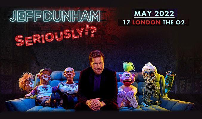 Jeff Dunham - RESCHEDULED TO 2022 tickets at Resorts World Arena in Birmingham