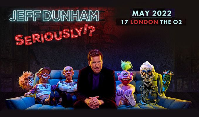 Jeff Dunham - RESCHEDULED TO 2022 tickets at The SSE Hydro in Glasgow