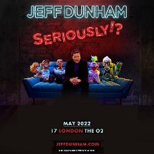 Jeff Dunham - RESCHEDULED TO 2022 tickets at The O2 in London