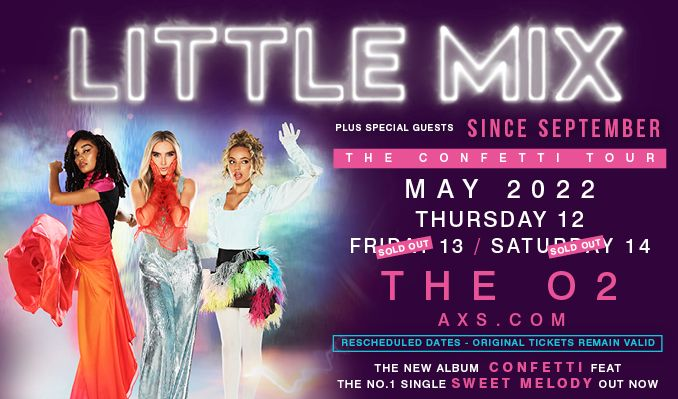 Little Mix - RESCHEDULED tickets at The O2 in London
