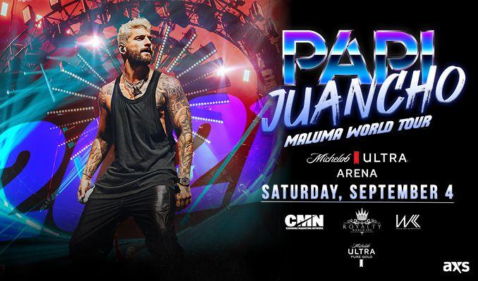 Maluma tickets at Michelob ULTRA Arena at Mandalay Bay Resort & Casino in Las Vegas