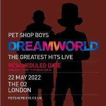 Pet Shop Boys - RESCHEDULED tickets at Motorpoint Arena Cardiff in Cardiff