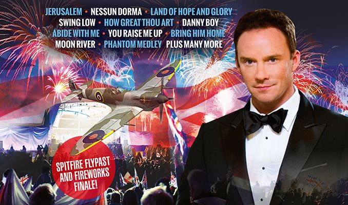 Russell Watson accompanied by the The Royal Philharmonic Concert Orchestra + THE NHS CHOIR – Last Night of the Proms tickets at South of England Showground in West Sussex